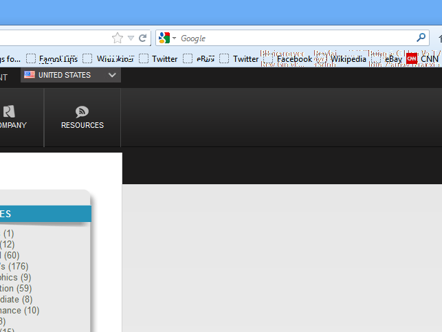 Is Firefox Having Graphics Problems in Windows 8?